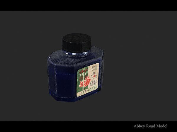 ink bottle 3d max