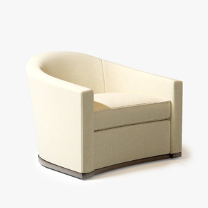 3ds max holly hunt sevilla chair