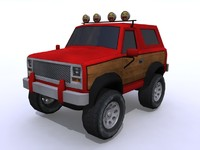 4x4 bronco 3d model