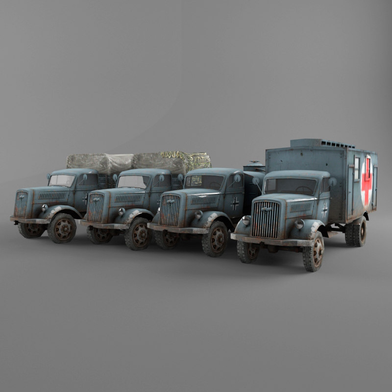 opel blitz truck max