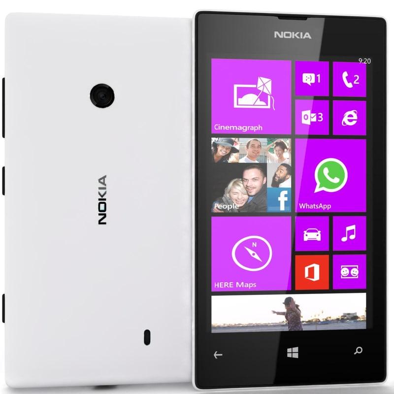 nokia lumia 520 white max