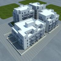 3d model buildings 1 3