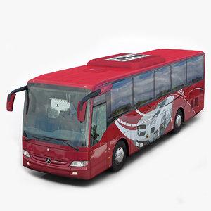 mercedes benz tourismo k 3d model