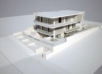 3d modern villa architecture
