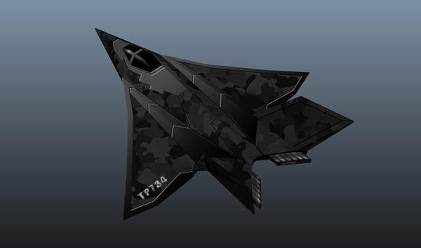 stealth fbx