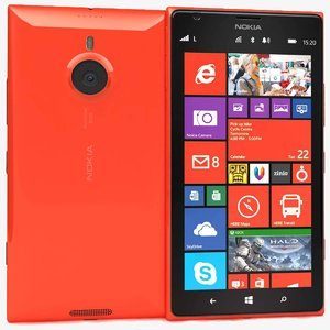 nokia lumia 1520 red 3ds