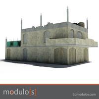 ruin 3d model