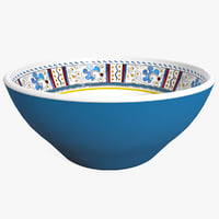cereal bowl blue max