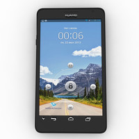 3d huawei ascend mate model