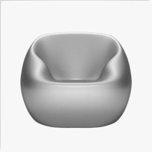 arflex ball armchair 3d model