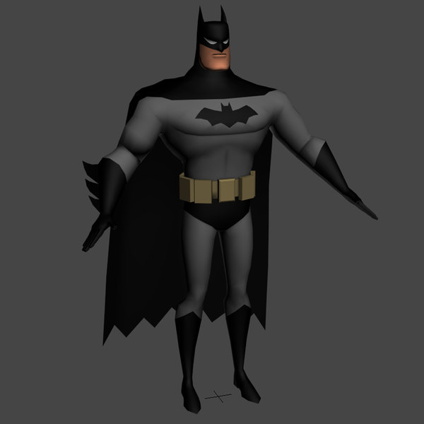 batman tas 3d model