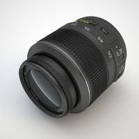 camera lens obj