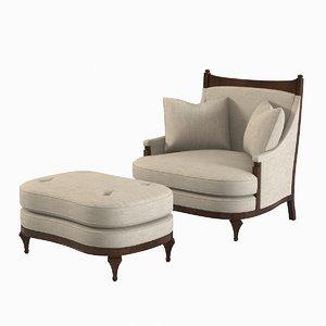 century balboa chair 3d max