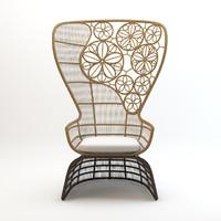 Crinoline armchair Patricia Urquiola