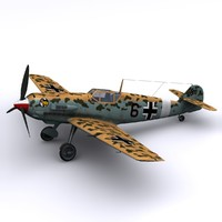 Bf-109 E4/7 Trop - JG27 Lybia 1941