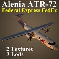 AT72 FDX