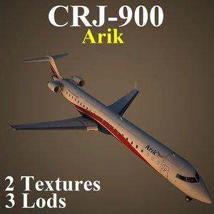 3d regional jet ara