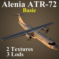 alenia basic 3d max