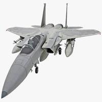 mcdonnell douglas f-15a eagle 3d model