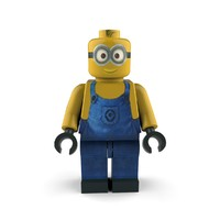 3d minion follower character model