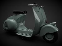 The Vespa 98 1946