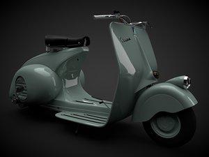 vespa 1946 c4d