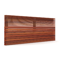 wooden fence wood