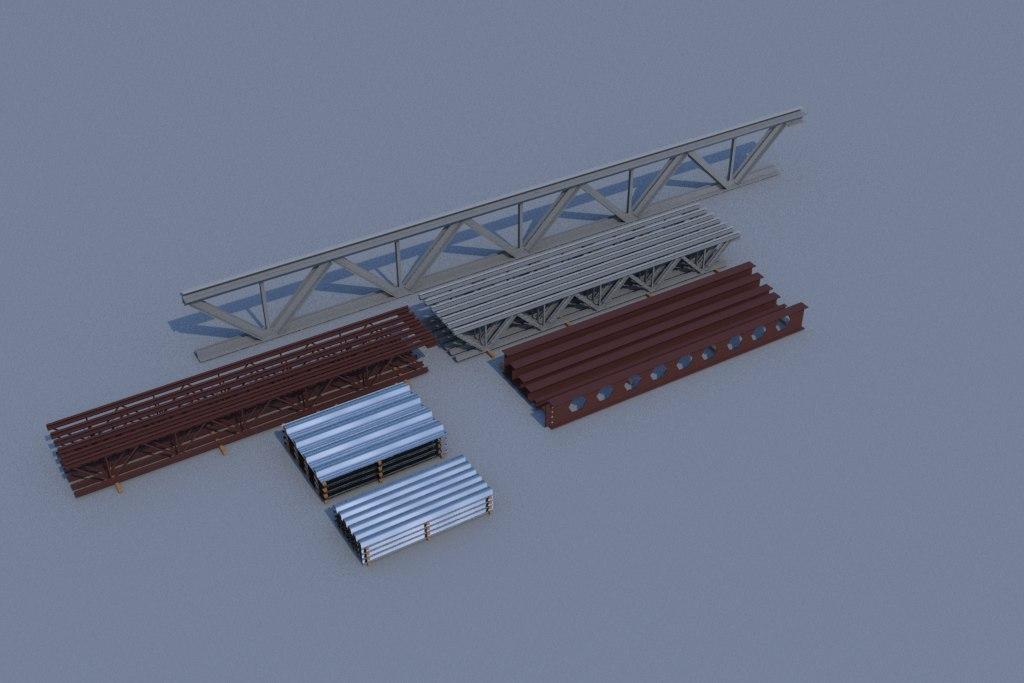 3d 1 steel beam