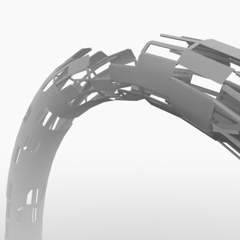 3ds max arch stairs
