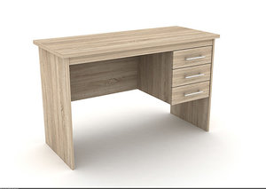 modern office table 3d 3ds