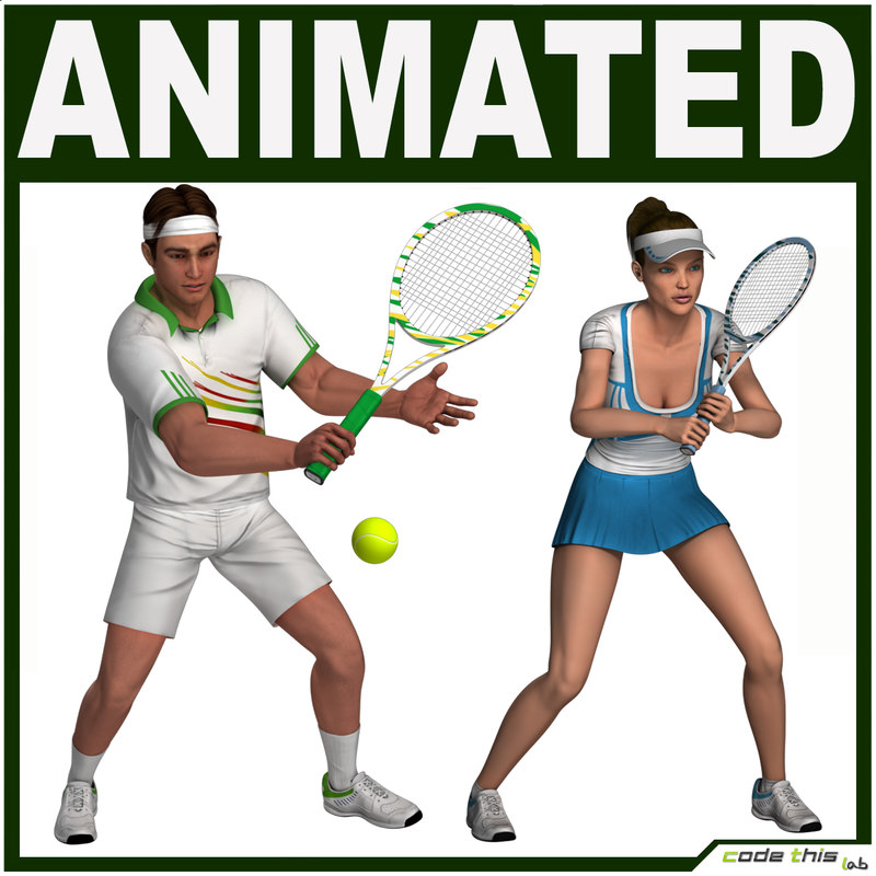 racket characters tennis player max