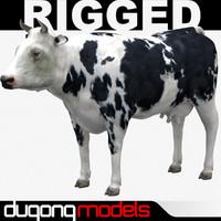 dugm02 cow 03 3d max