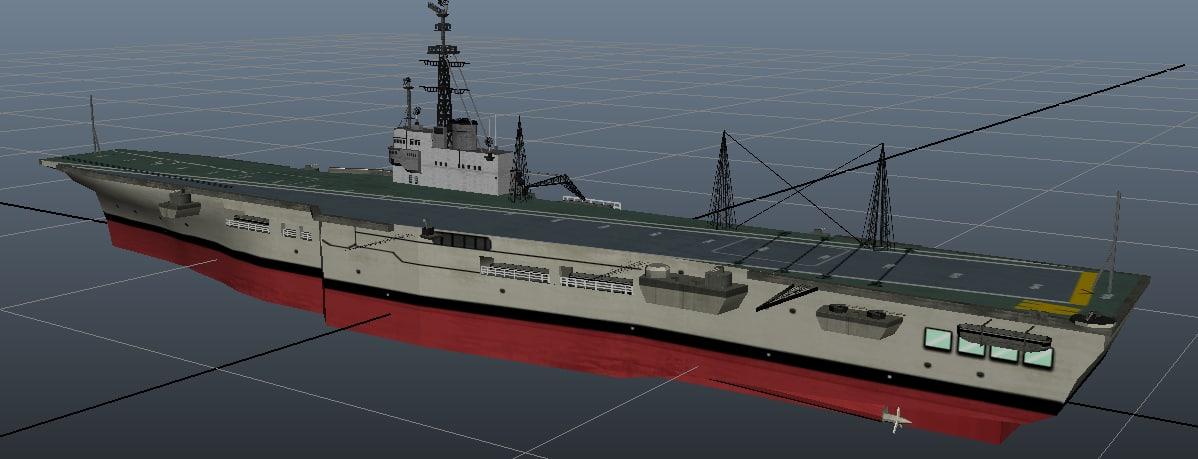 3d aircraft carrier indian navy