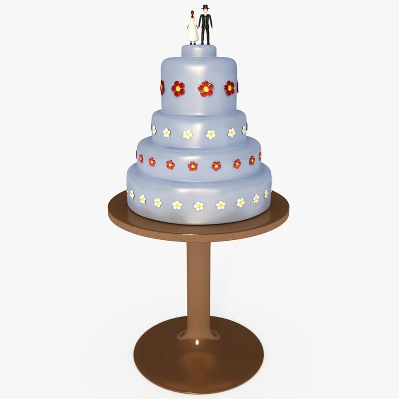 max customizable wedding cake