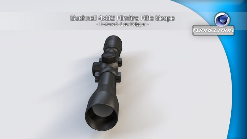 bushnell scope rimfire rifles 3d c4d