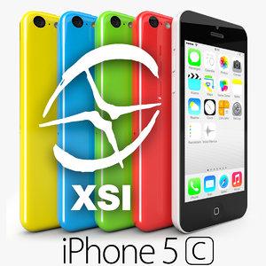 3d model apple iphone 5c
