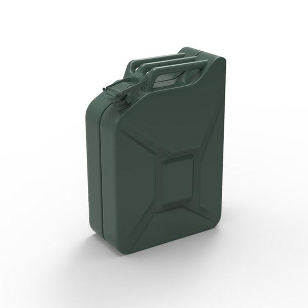 3d contain model