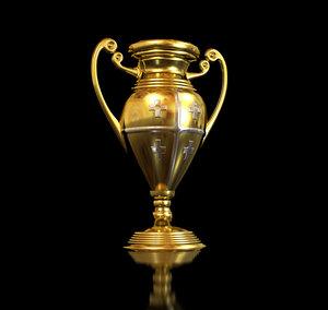 gold cup 3d max