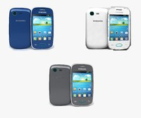 3d samsung galaxy pocket neo model