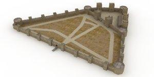 medieval castle smederevo max
