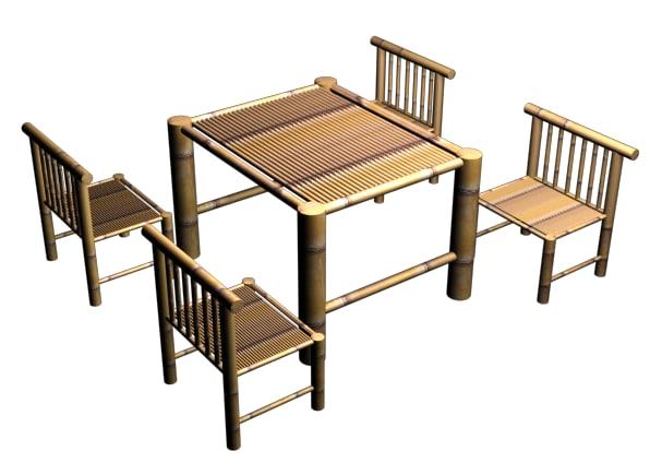 free table viet nam 3d model