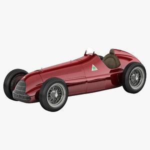 alfa romeo 158 3d model