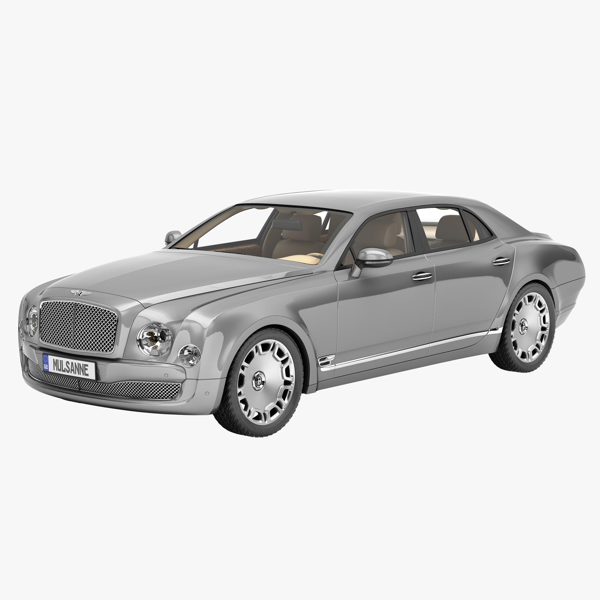 Bentley Mulsanne Mulliner 2013 Max