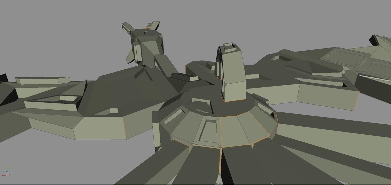 alien starship 3ds