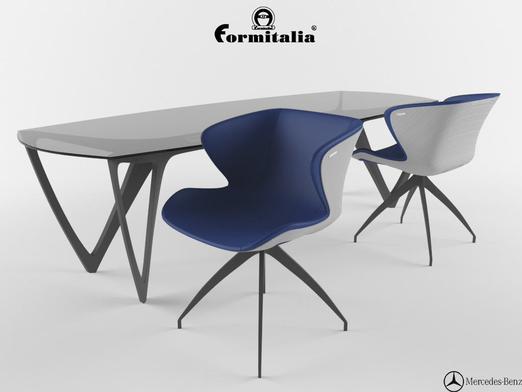 chairs mbs 003 table 3d max