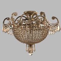 crystorama vanderbilt chandelier 3d 3ds