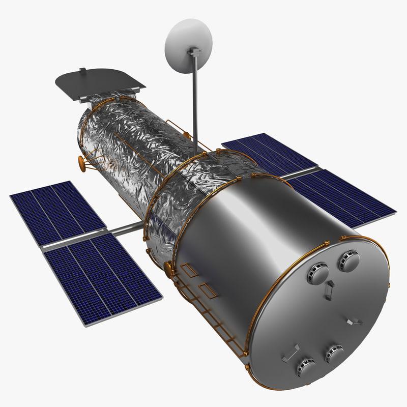 hubble space telescope 3d 3ds