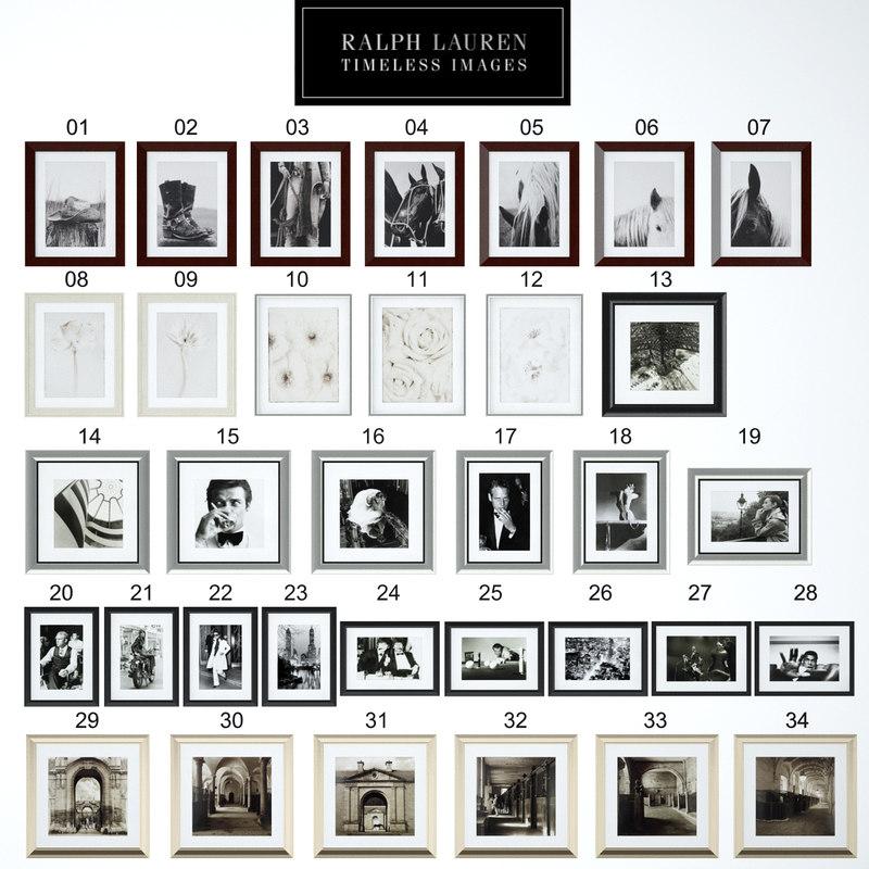 frames images 3d model