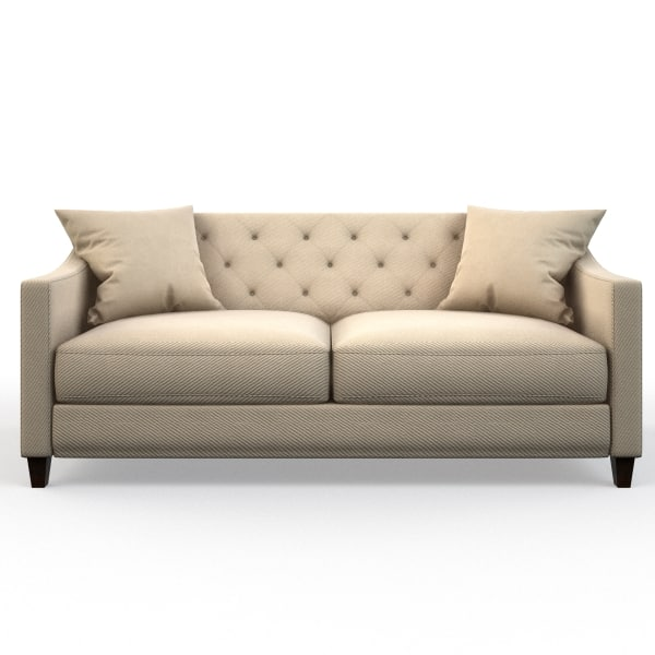 3d model of raymour flanigan sofa