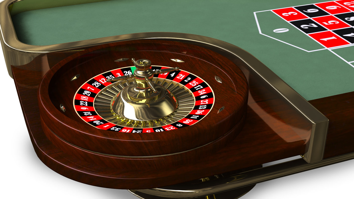 Casino quality roulette table